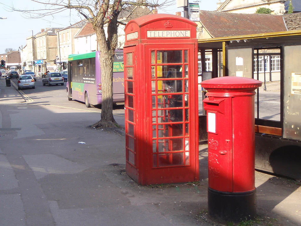 Phone box and Post Box