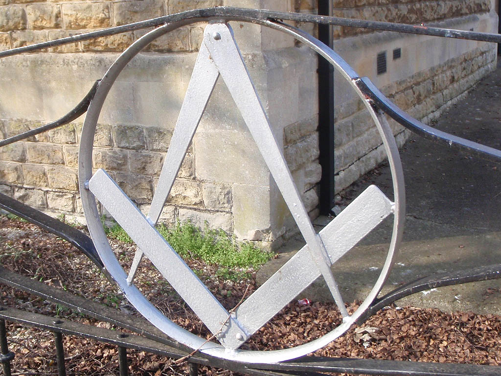 Gate to Masonic Hall