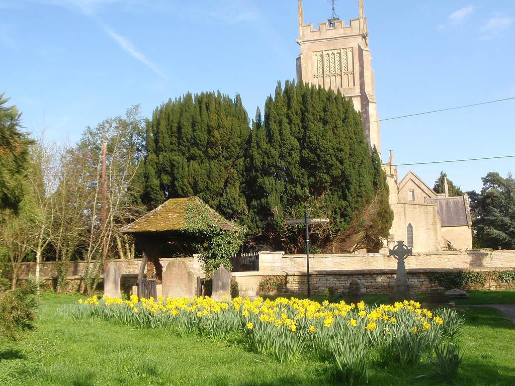 Graveyard, Lychgate, Church Tower