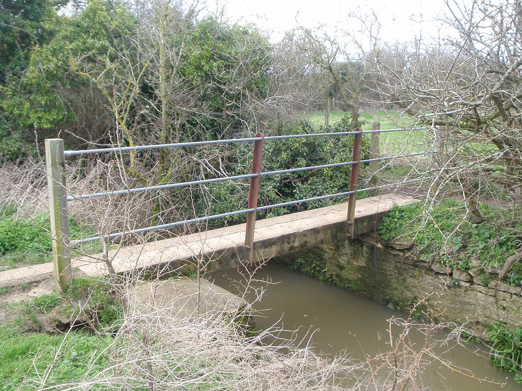 Footbridge over South Brook