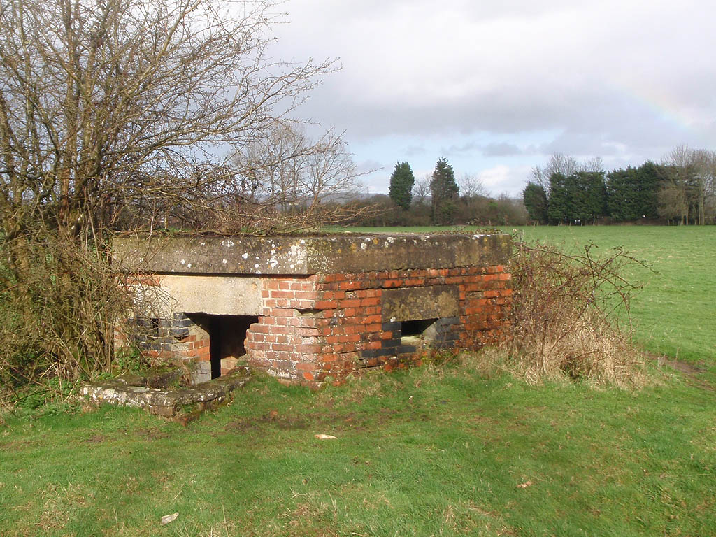 Pillbox - World War 2 defensive position