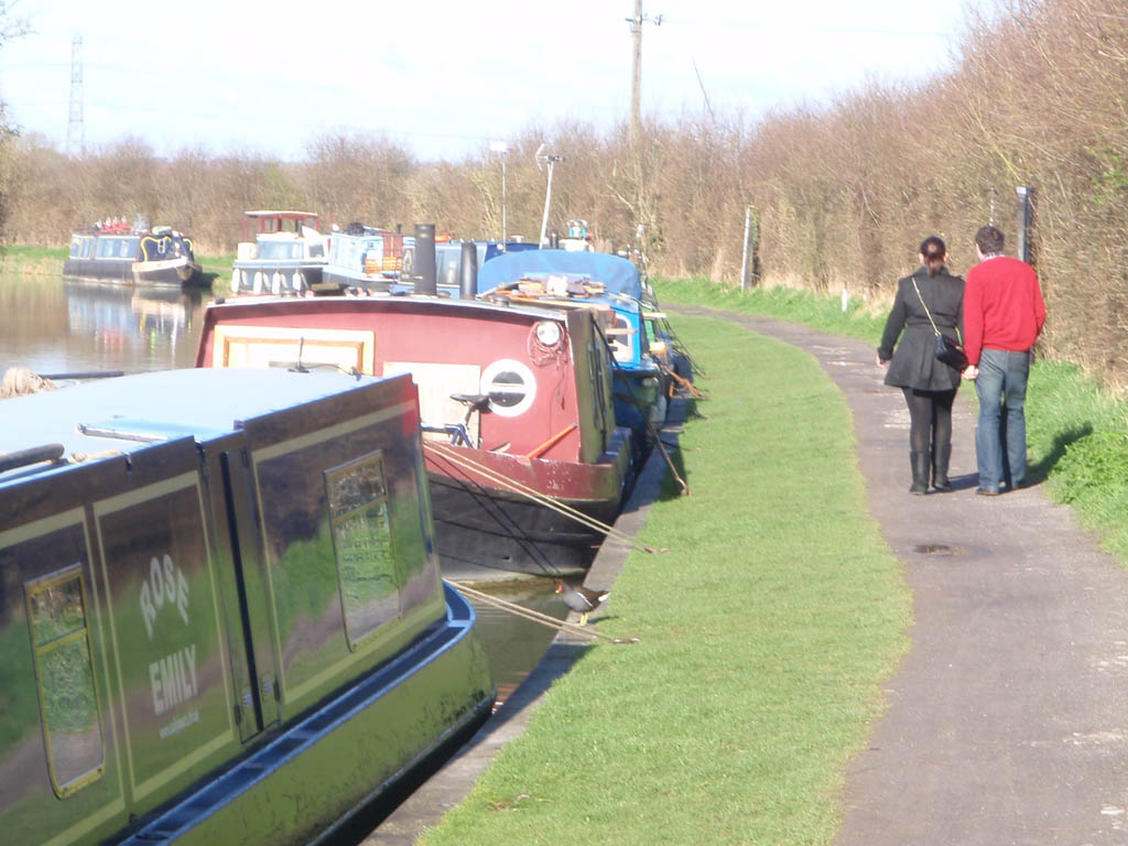 Canal near Semington