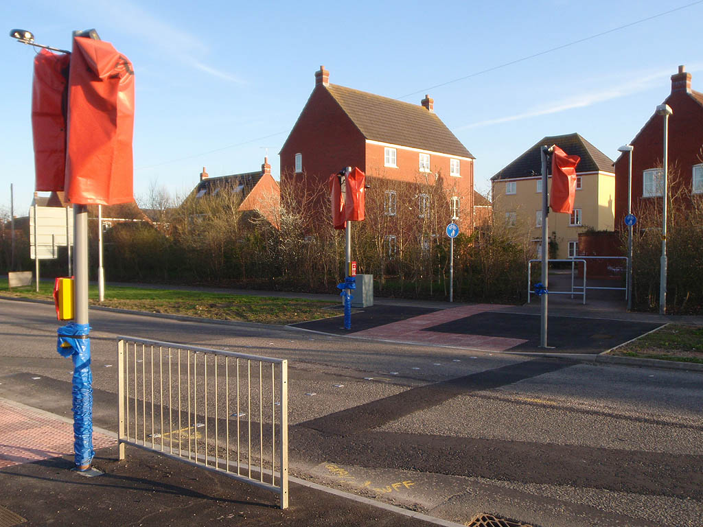 New Pedestrian Crossing, Bowerhill