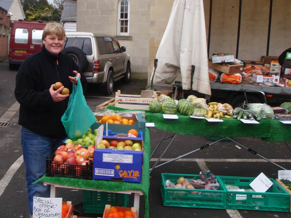 Melksham Tuesday Market