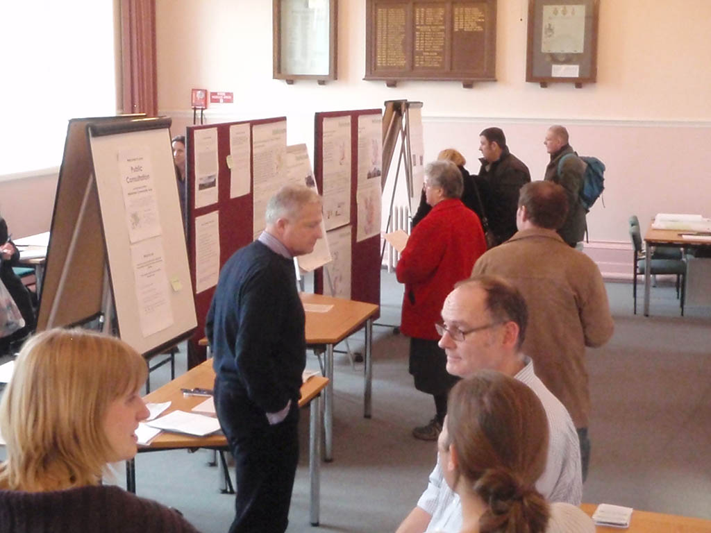 Consultation Exhibition by the Community Area Partnership