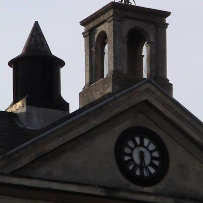 Clock in Cambridge
