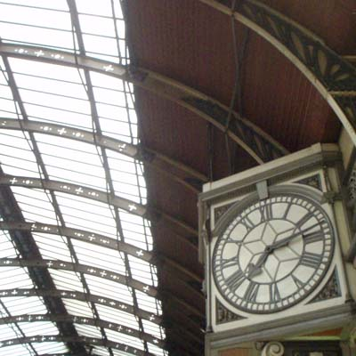 Real Paddington Clock
