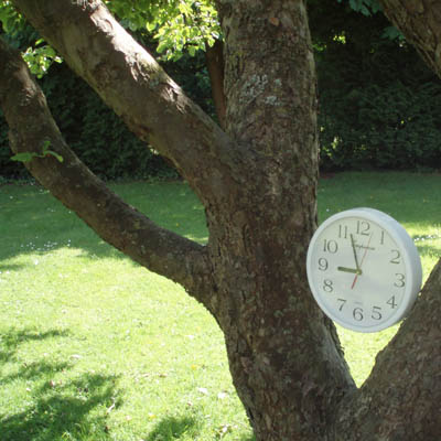Clock in a tree