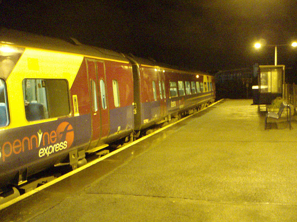 Train at Melksham Station