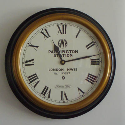 Reproduction Paddington Clock