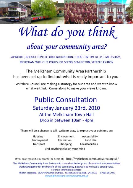 Consultation Poster