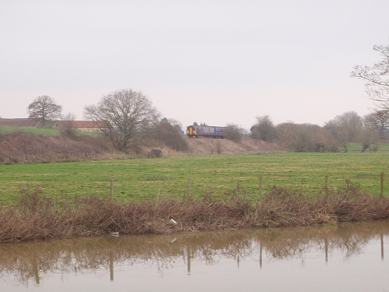 The Transwilts line runs along the valley of the river Avon between Chippenham and Trowbridge.