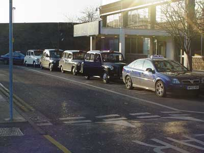 Taxi Rank, Swindon Station