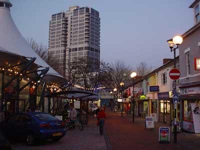 Dusk in Swindon