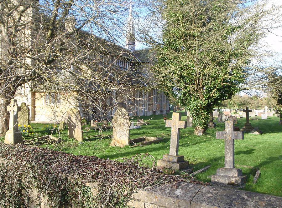 Churchyard, Shaw