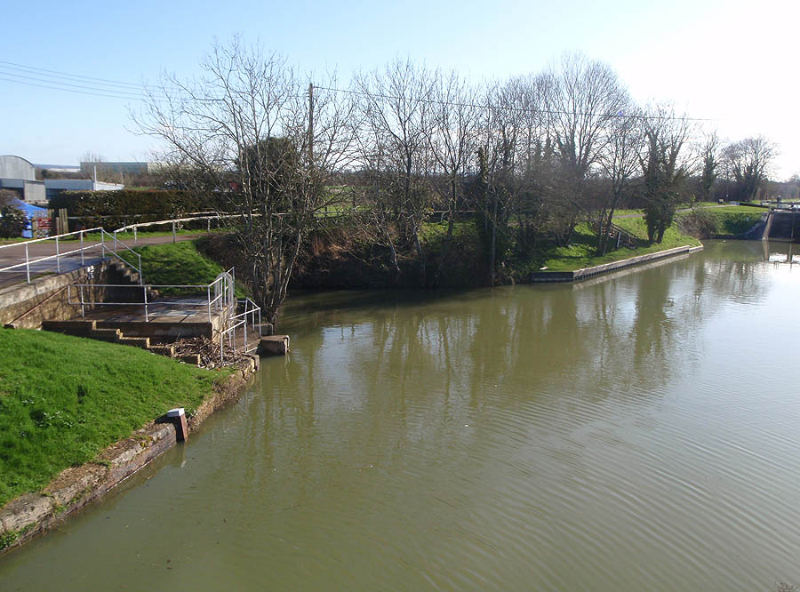 Wilts and Berks (old) Junction on the Kennet and Avon at Semington