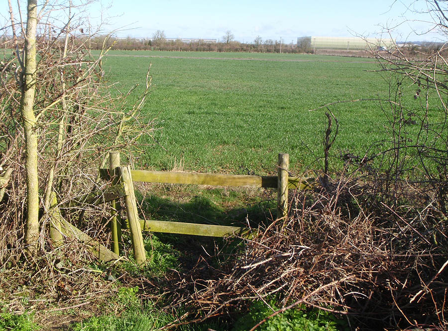 Stile to nowhere