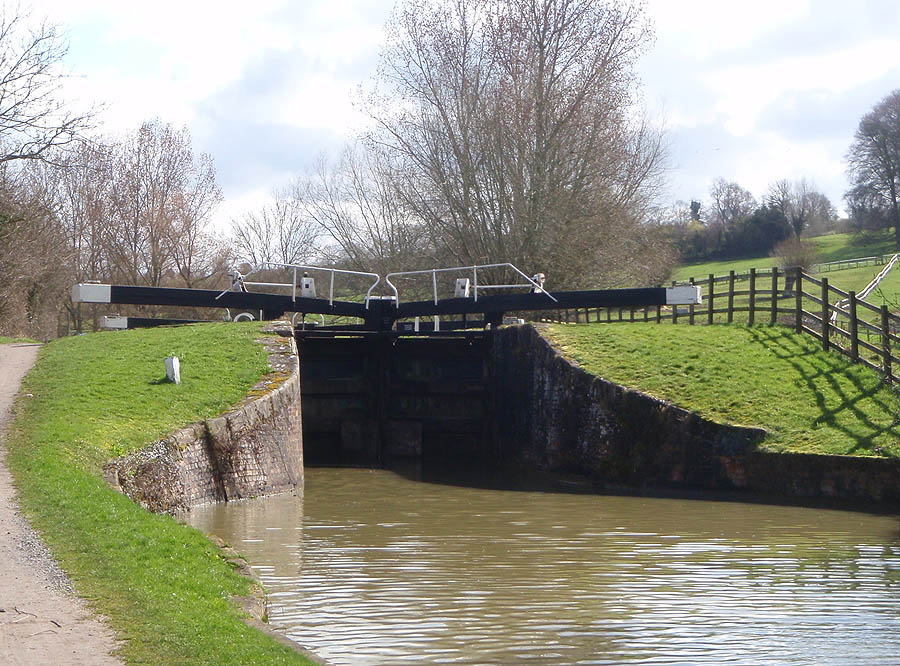 Seend second lock