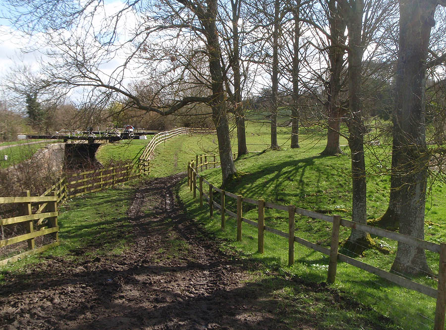 Seend Iron works - old earthworks
