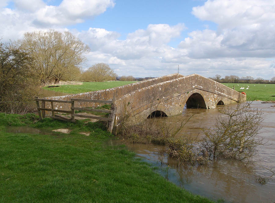 Circa 1725 Melksham Pack Horse Bridge