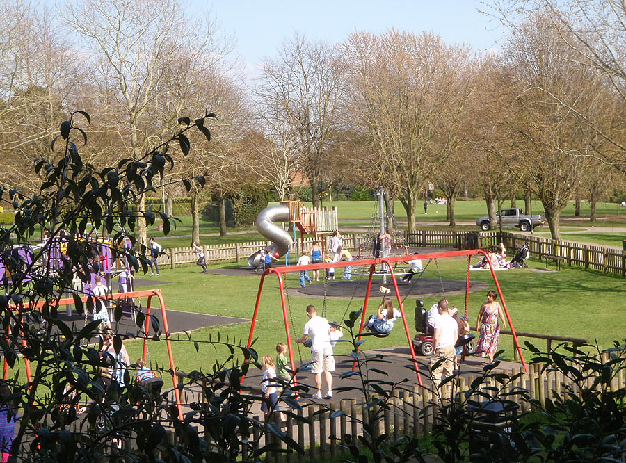 Trowbridge Park play area