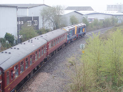 Special train at Melksham