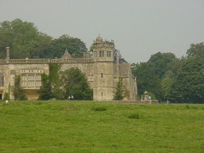 Another view of Lacock Abbey