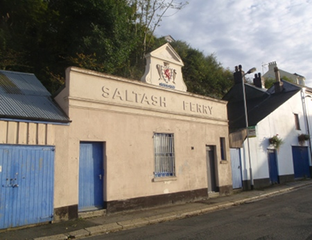 The old Saltash Ferry builing at St Budeaux