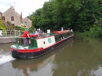 Trip boat from Bradford-on-Avon