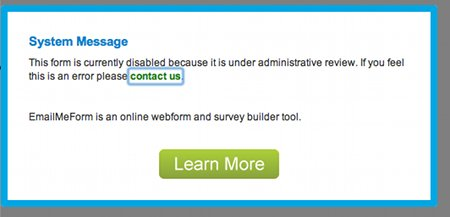 What NOT to echo back when people fill a form on your web site