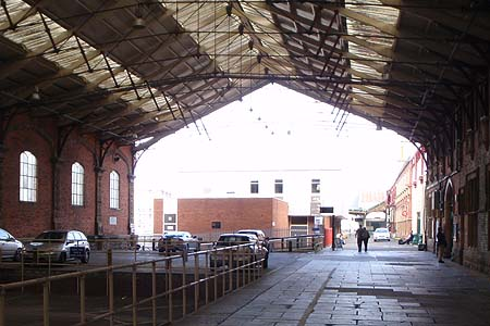 Old Trainshed, Bristol Temple Meads