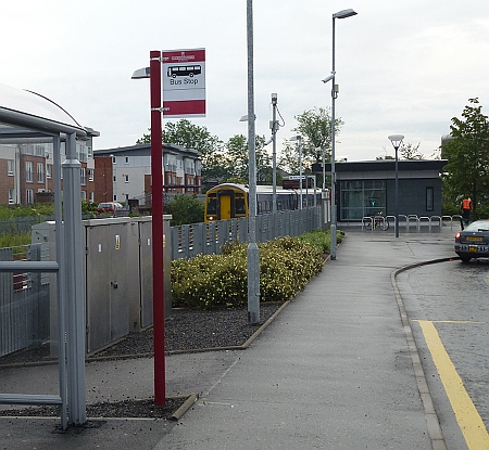 Bus and train integration, Alloa