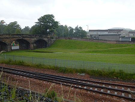 Old station site, Alloa