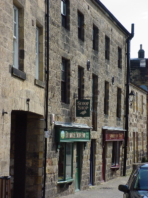An alley in Alnwick