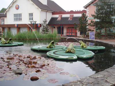 Frog Fountains