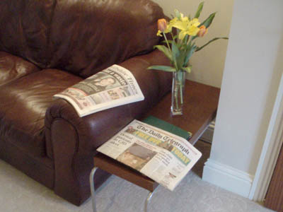 Newspapers for customers