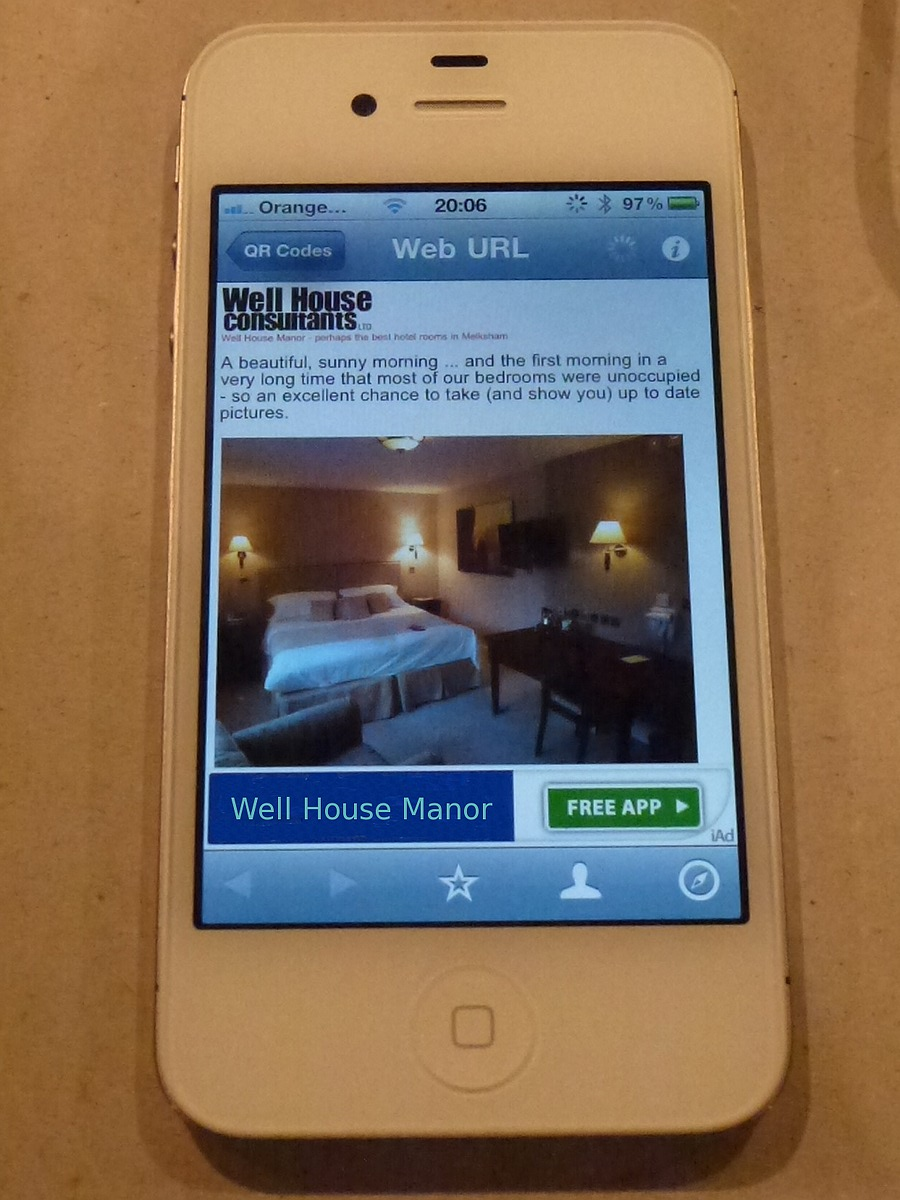 Hotel rooms - look on your mobile