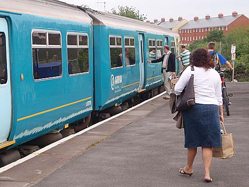 Arriva Trains Wales, at Melksham