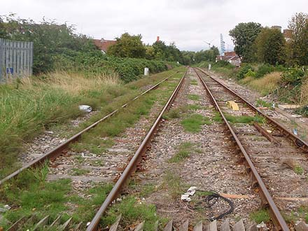 the line from Avonmouth to Severn Beach