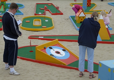 Crazy Golf, Weymouth