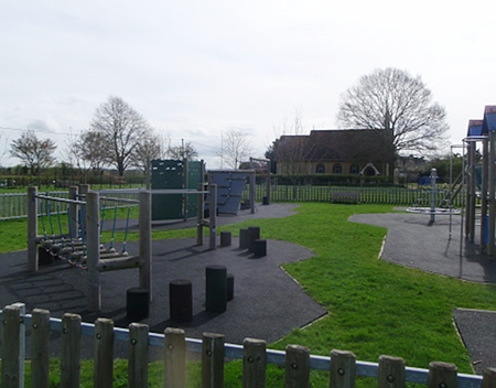 Playground and Church