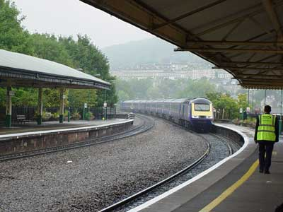 Intercity 125 train at Bath