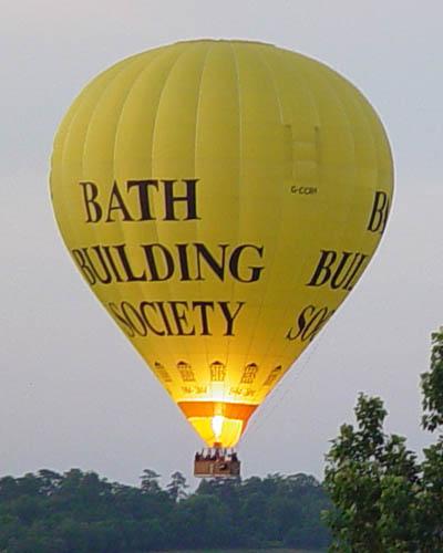Ballooning over Melksham