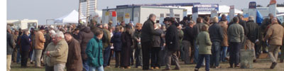 Betting on the horses at Larkhill