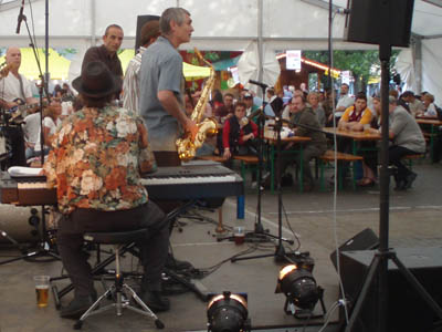 Reggae and folk, German food and beer in Bristol
