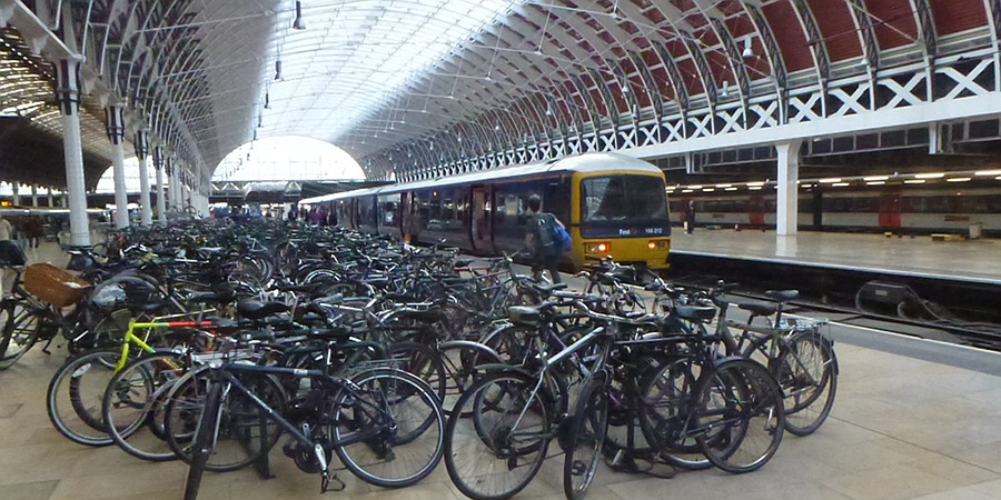 Cycles at Paddington