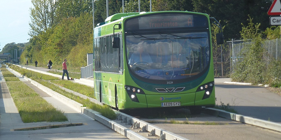Guided Busway, Cambridge