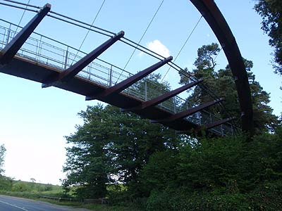 Footbridge and Cyclebridge over A4
