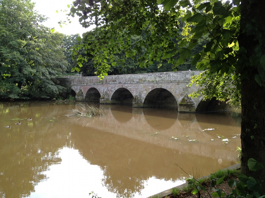 Main old river bridge, Blanford Forum