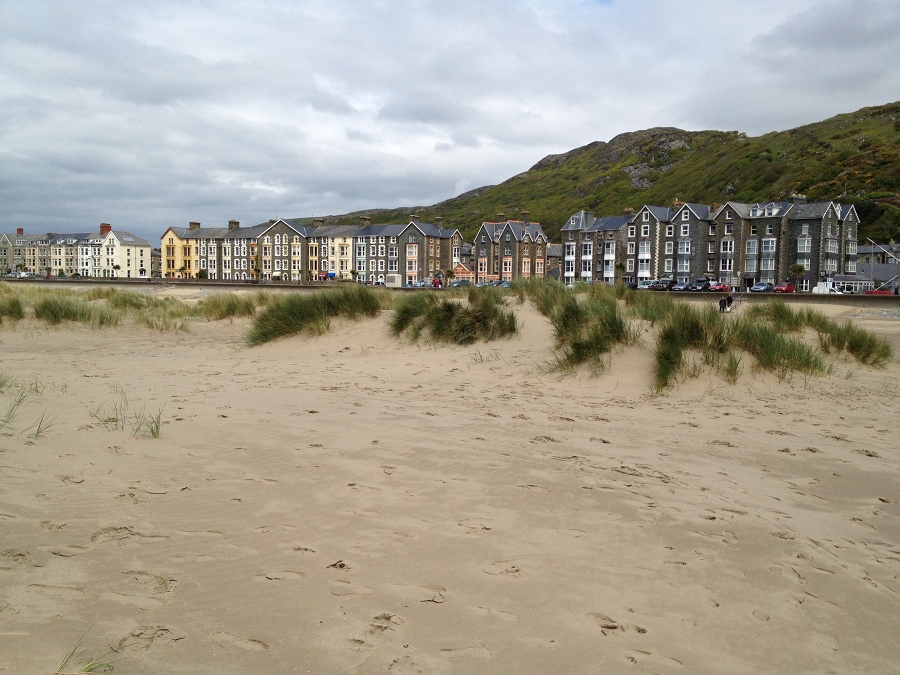 Victorian seafront at Barmouth